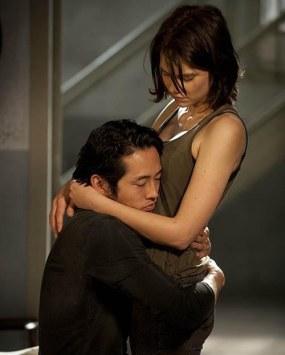 Glenn e Maggie - Será que Judith vai ganhar um priminho logo mais?